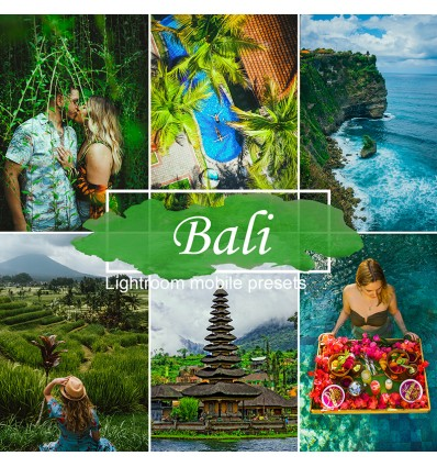 Mobile Lightroom Preset - Bali Jungle