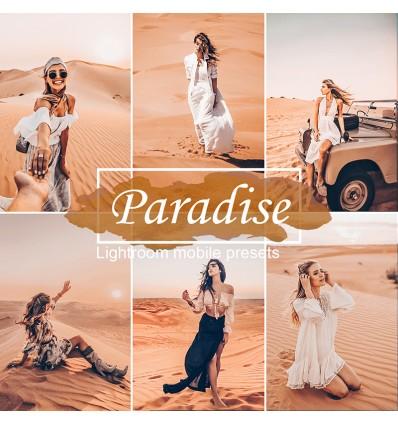 Mobile Lightroom Preset - Paradise