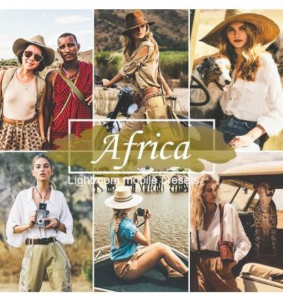 Mobile Lightroom Preset - Africa
