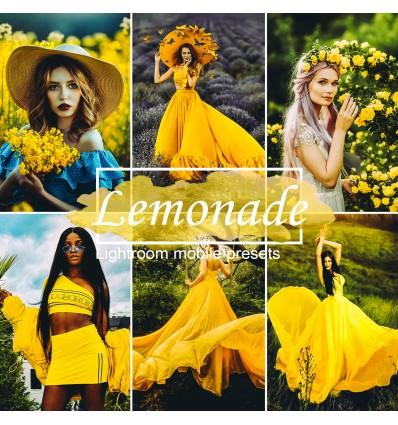 Mobile Lightroom Preset - Lemonade