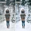 Mobile Lightroom Preset - White Winter
