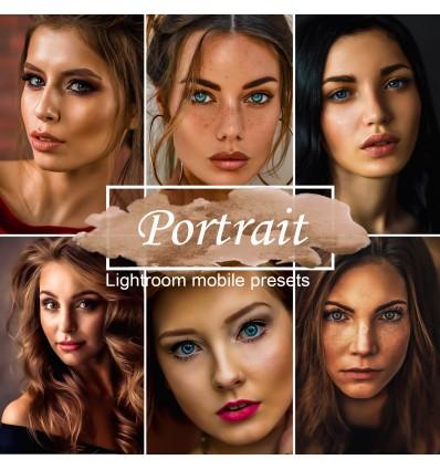 Mobile Lightroom Preset - Portrait