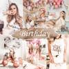 Mobile Lightroom Preset - Birthday