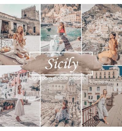Mobile Lightroom Preset - Sicily